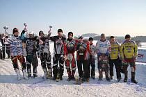 DO HRY o letošní mistrovský titul se díky prvnímu a třetímu místu v jižních Čechách dostali Josef Mňuk a Filip Langer (6).