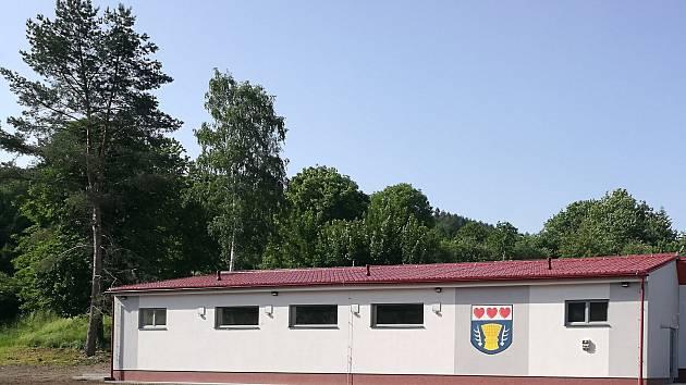 Nový kulturní dům v Bělé u Jevíčka