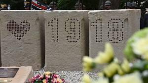 V Moravské Třebové odhalili pomník obětem 1. světové války