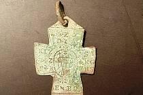 Archeologický výzkum při odvlhčení kostela v Karli