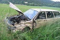 Ke střetu dvou vozidel došlo ve čtvrtek u Městečka Trnávka.