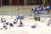 Z utkání HC Litomyšl vs. BK Havlíčkův Brod B.