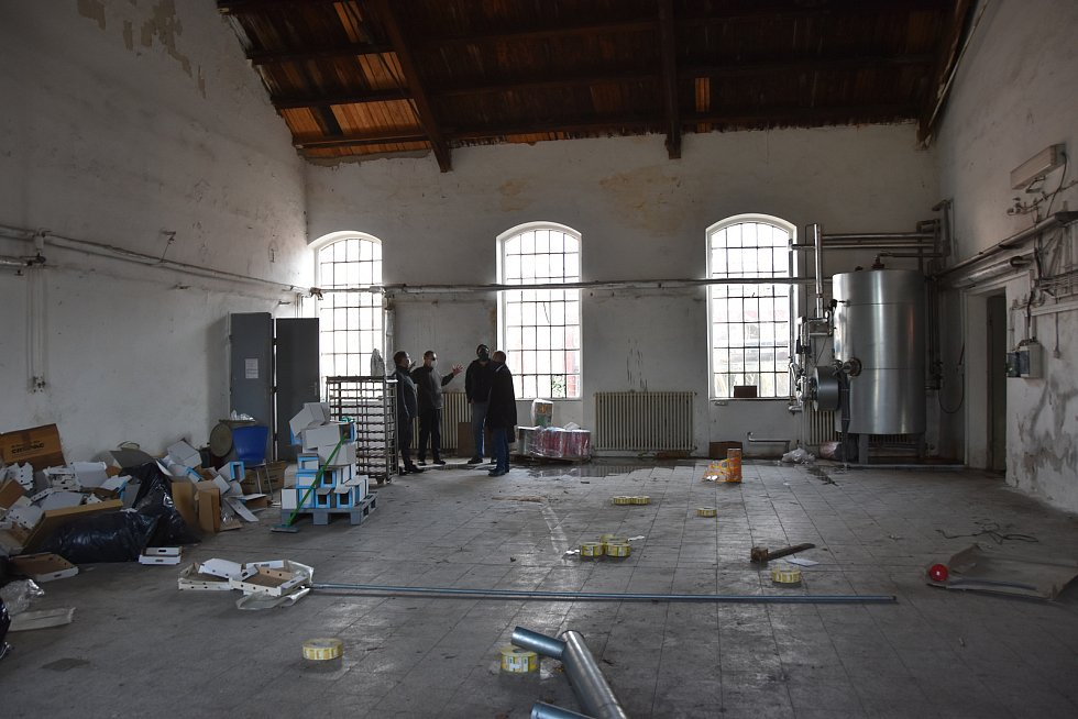 Moravská Třebová chystá přestavbu areálu bývalé mlékárny na kulturní centrum.