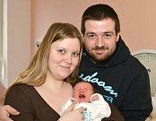 JAN DANĚK. Narodil se 20. března Veronice Taberyové a Janu Daňkovi z Bělé nad Svitavou. Měřil 50 centimetrů a vážil 3,02 kilogramu.