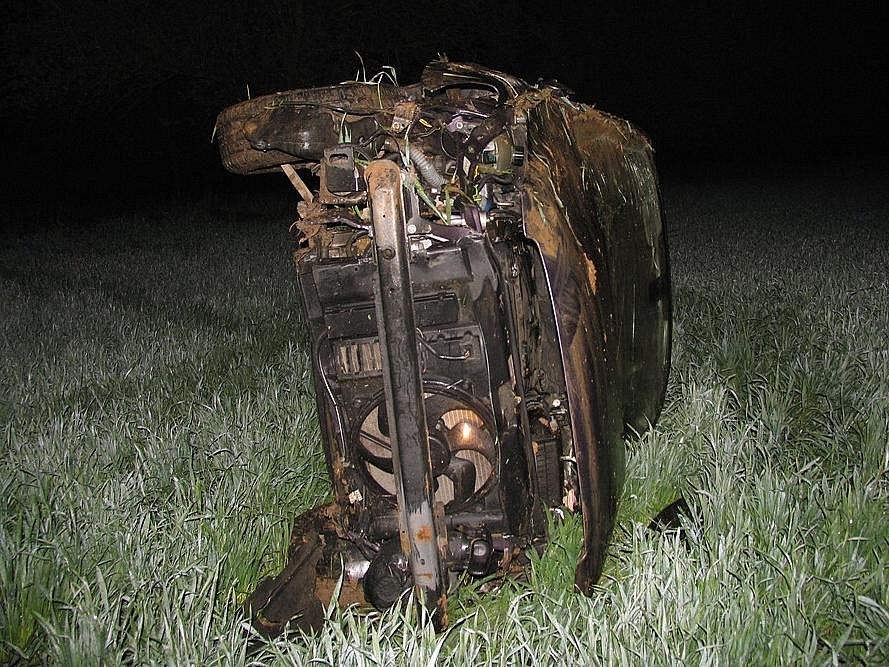 Řidič havaroval s dvěma promile v dechu.