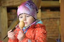 Neděle patřila v Regionálním muzeu vesnice v Dolním Újezdu velikonoční výstavě s řemesly.