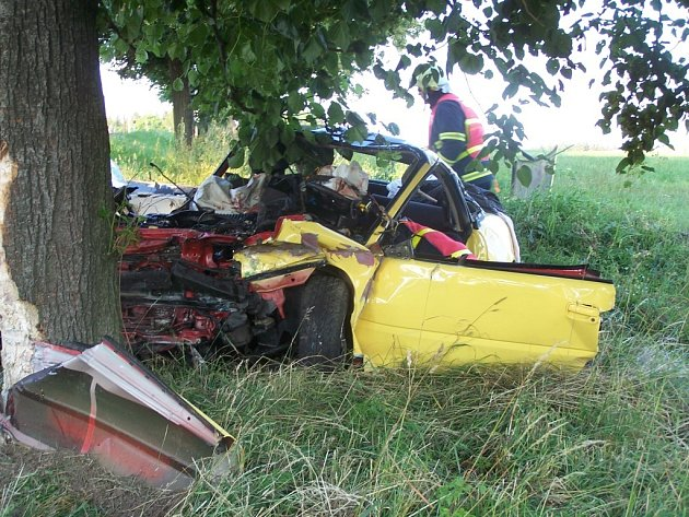 Nehoda u Borové skončila tragicky, dva lidé zahynuli
