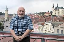 Karel Čáslavský natáčel v Litomyšli.