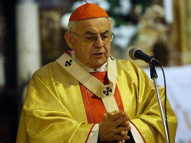 Kardinál Miloslav Vlk.