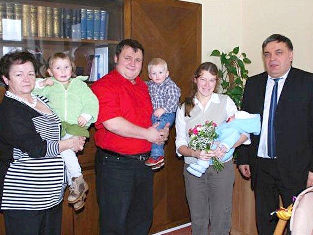 Prvním miminkem Poličky pro rok 2013 je malá Kateřina