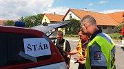 Cvičení Biohazard v Morašicích..
