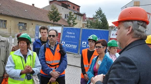 Lidé se mohli v sobotu podívat do některých objektů na zámeckém návrší, kde jinak pracují dělníci a vstup je sem zakázaný.