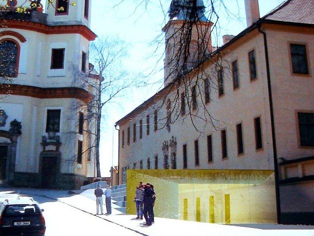 Reprofoto: Vizualizace litomyšlského muzea.