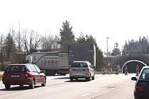 Hřebečský tunel na silnici I/35 je uzavřený. Dnes ještě v obou směrech, zítra už jen pro auta jedoucí od Moravské Třebové.