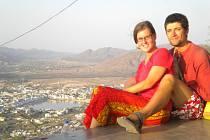 Výhled na Pushkar