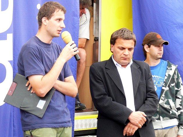 Starosta Poličky Jaroslav Martinů odpovídal na dotazy týkající se dopravy v centru.