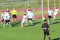 Okresní derby zvládli o poznání lépe fotbalisté z Pomezí.