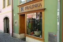 Pralinka - cukrárna a kavárna.