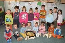 Fotografie z mateřské školy v Janově.