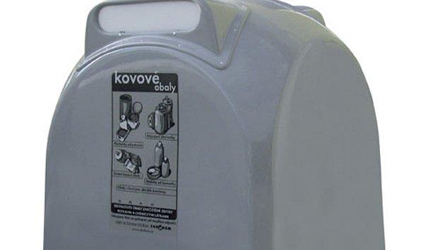 Šedé kontejnery rozšíří možnosti třídění o kovový odpad.