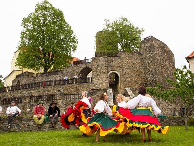 Velikonoce na hradě Svojanov.