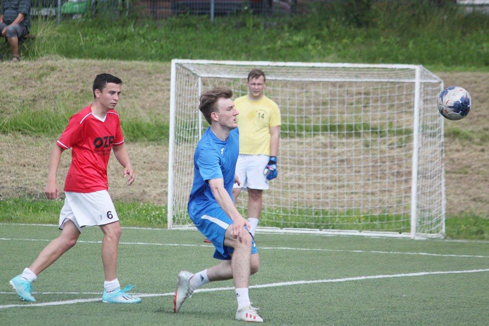 Turnaj v minikopané v Litomyšli.