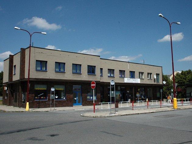 Autobusové nádraží ve Svitavách