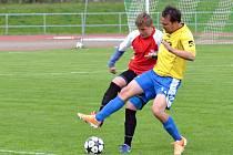 Zápas Litomyšle B s Horním Újezdem byl rozhodnut po čtyřech minutách.