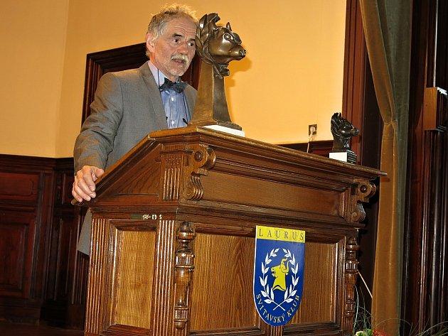 Předání výroční ceny Svitavského klubu Laurus.