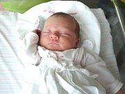 ZUZANA ZÁHOROVÁ. Narodila se 6. května ve 13.58 hodin ve Svitavách. Vážila 3,95 kilogramu a měřila 52 centimetrů. S rodiči Zuzanou a Jakubem a sestrou Terezkou bydlí v Koclířově.