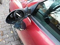 Opilý cyklista ve Svitavách naboural do stojícího automobilu