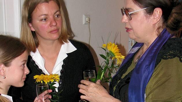 Barbora Srncová (vlevo) jde ve stopách své mámy Emmy.