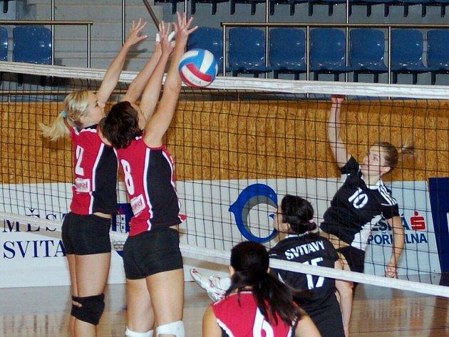 Sedmou a osmou porážku v této sezoně si připsaly druholigové volejbalistky Svitav v utkáních s celkem Litovle.