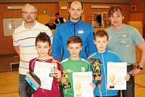 Mezikrajské finále okresních fotbalových výběrů mládeže. Nejlepší střelci.