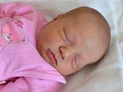 DOMINIKA KŘIVKOVÁ. Narodila se 27. května Monice Melezínkové a Marku Křivkovi z Poličky. Měřila 48 centimetrů a vážila 3,3 kilogramu.