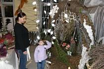 Vánoční výstava na zahradnické škole v Litomyšli