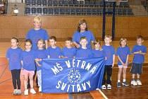 Ve středu se uskutečnilo semifinále krajského kola sportovních her mateřských škol v hale Na Střelnici ve Svitavách.