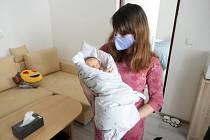 Valerie je prvním letošním miminkem ve Svitavách