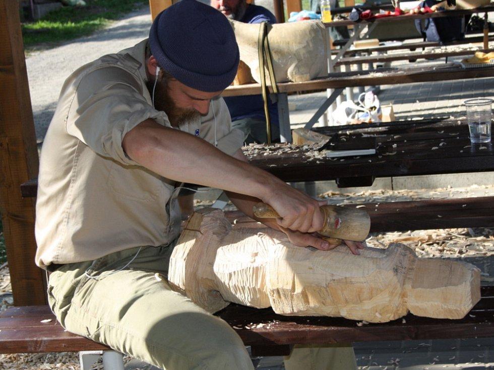 Betlémáři z celé Evropy opracovávají v Bystrém lipové dřevo. Muži a ženy, jejichž společnou řečí je ťukání dlátek a kladívek,  mají jediný úkol. Do čtvrtka vyřezat betlém.