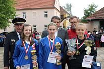 Hasičská mládež Pardubického a Jihomoravského kraje se o víkendu utkala v Jevíčku O putovní pohár Malé Hané.