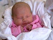 KLAUDIE KADLECOVÁ. Narodila se 5. března Nikol Abrahamovéa Zdeňku Kadlecovi ze Svitav. Měřila 47 centimetrů  a vážila 2,85 kilogramu.