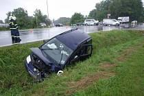 Jedna dopravní nehoda a osm zraněných.