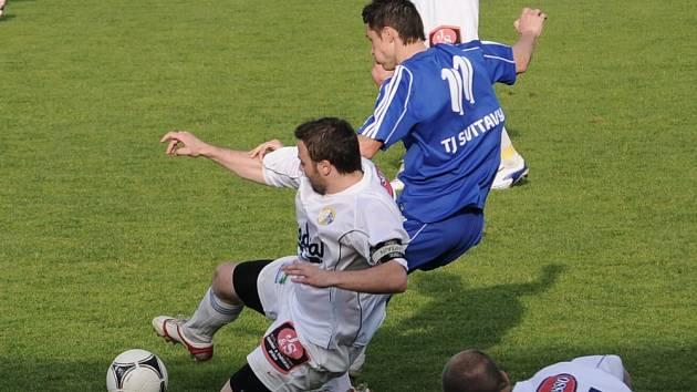 JEDNÍM Z VRCHOLŮ jarní části bylo pro moravskotřebovské fanoušky vítězství ve vždy prestižním derby nad Svitavami. V příští sezoně ale tento duel k vidění nebude, Svitavy postoupily.