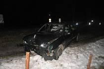 Nehoda u Javorníka.