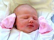 NIKOLA TRÁVNÍČKOVÁ.  Narodila se 10. dubna Janě a Miroslavovi z Poličky. Měřila 49 centimetrů a vážila 3,9 kilogramu. Má brášku Daniela.