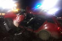 Vážná nehoda u Poličky: jedna osoba zemřela.
