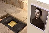 Dvanáctý Kámen zmizelých přibyl ve Svitavách u domu, kde žila Augusta Kanterová.