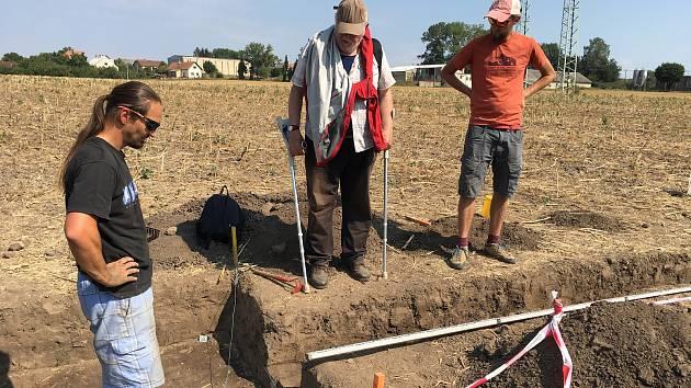 Archeologický výzkum Slezské univerzity ve Starém Městě.