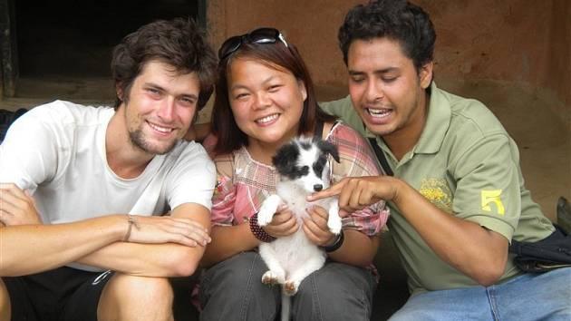 Bára a Matěj ještě naposledy navštívili Kathmandu.
