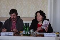 Blanka Čuhelová představila novou knihu o Svitavách.